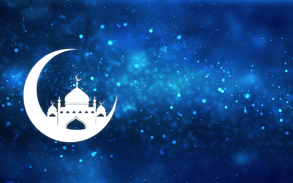 All events for Eid Prayer (on Friday if moon sighted Thursday night
